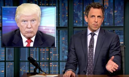 Seth Meyers on Russian Hacking Reports: Trump Has a Bizarre Affection for Putin