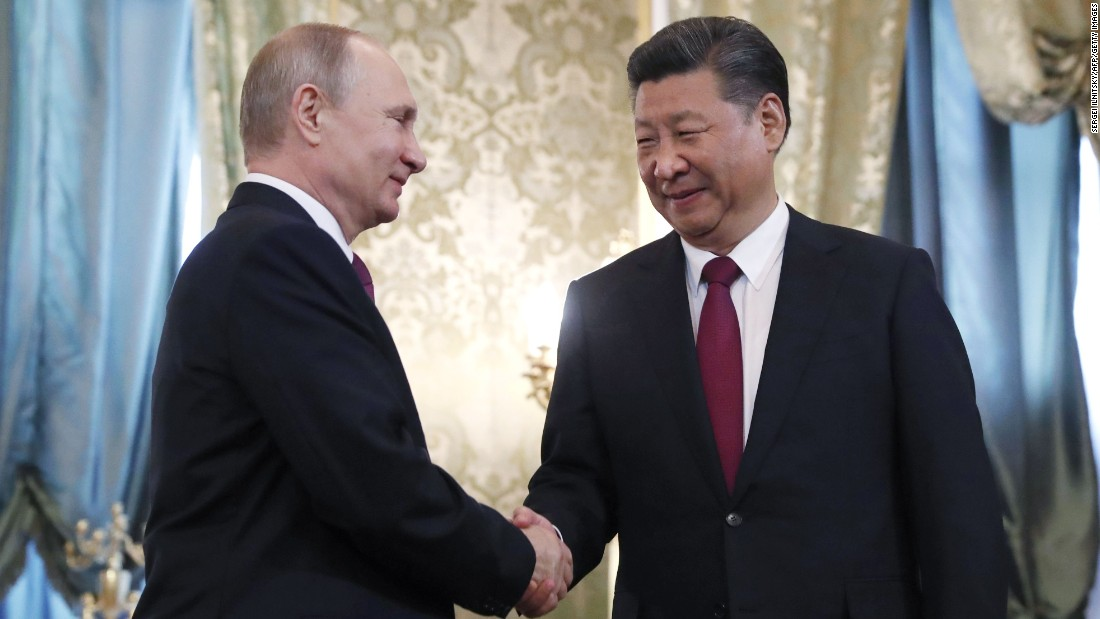 Trump's largest problem? China as well as Russia's newly found relationship