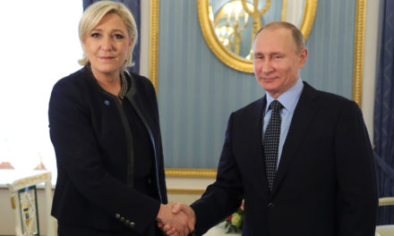 Russias Putin Picks Le Pen to Rule France