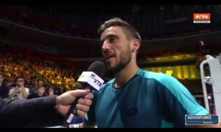 Damir Dzumhur On-CourtInterview After Win Over Ricardas Berankis – Kremlin Cup 2017 Final