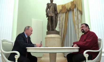 Putin offers Russian ticket to United States star Steven Seagal