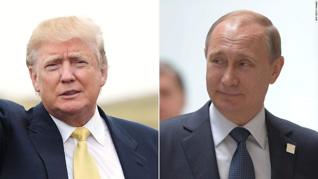 Russia's Putin, others happy as Trump win shocks globe