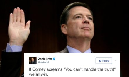 James Comey's Testimony Is Like Christmas For People On Twitter