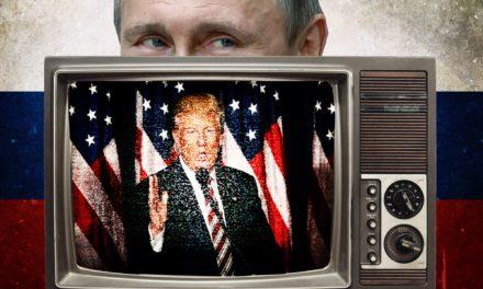 Putin TELEVISION Stars Pump for Trump