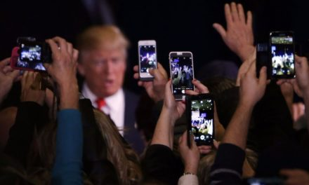 Someone inevitably intends to explore Trump's mobile phone