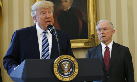 Donald Trump Asks Why 'Beleaguered' Jeff Sessions Isn' t Investigating Hillary Clinton