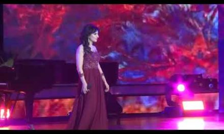 Moscow.KremlinPalace 4.112017Assyrian vocalist Madlen Ishoeva