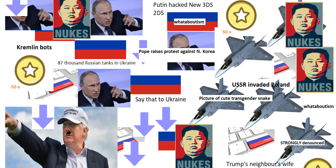 / r/ worldnews as thought about by/ r/ russia starterpack