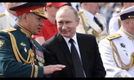 Vladimir Putin's battleship SHOOTS DOWN adversary rockets as RAF jets go to Russia