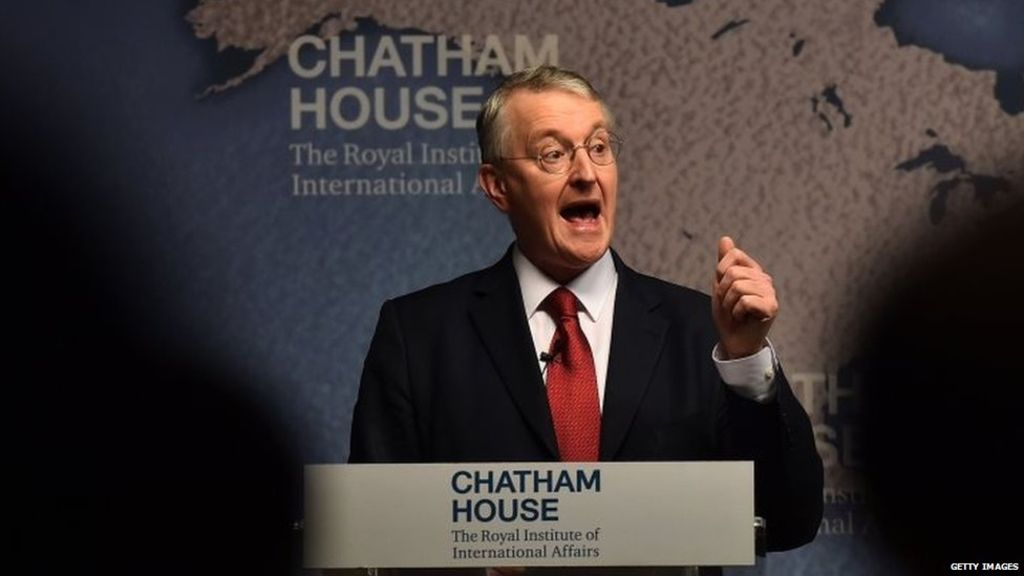 Putin 'would certainly find EU leave as weak point, ' claims Labour's Hilary Benn – BBC News