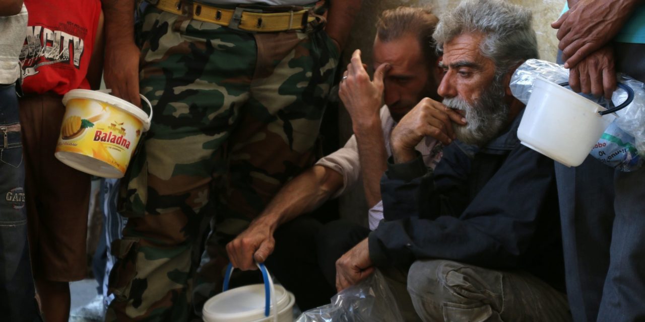 How One Man Is Helping Syrians Trapped In Aleppo During Ramadan