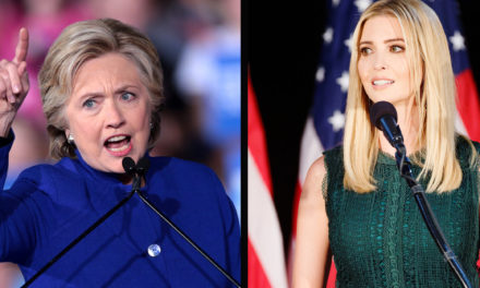 Hillary Clinton places Ivanka Trump on notification for sticking by her papa