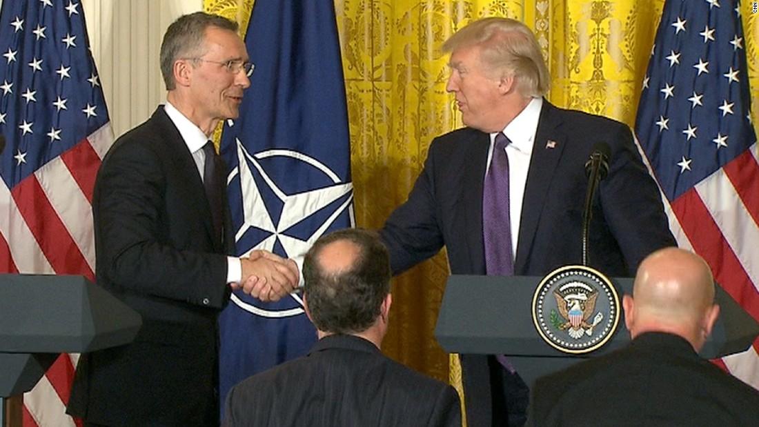 Trump's magnificent u-turns on NATO, China, Russia and also Syria