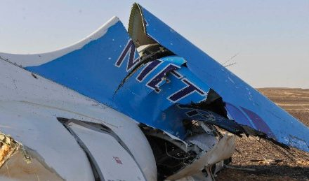 Egyptian analyzer: Noise heard adit ultimate moment apropos of Metrojet Flight 9268