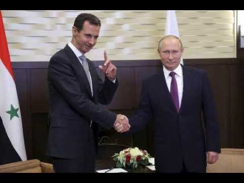 Russias Putin Hosts Syrias Assad For Talks: Kremlin