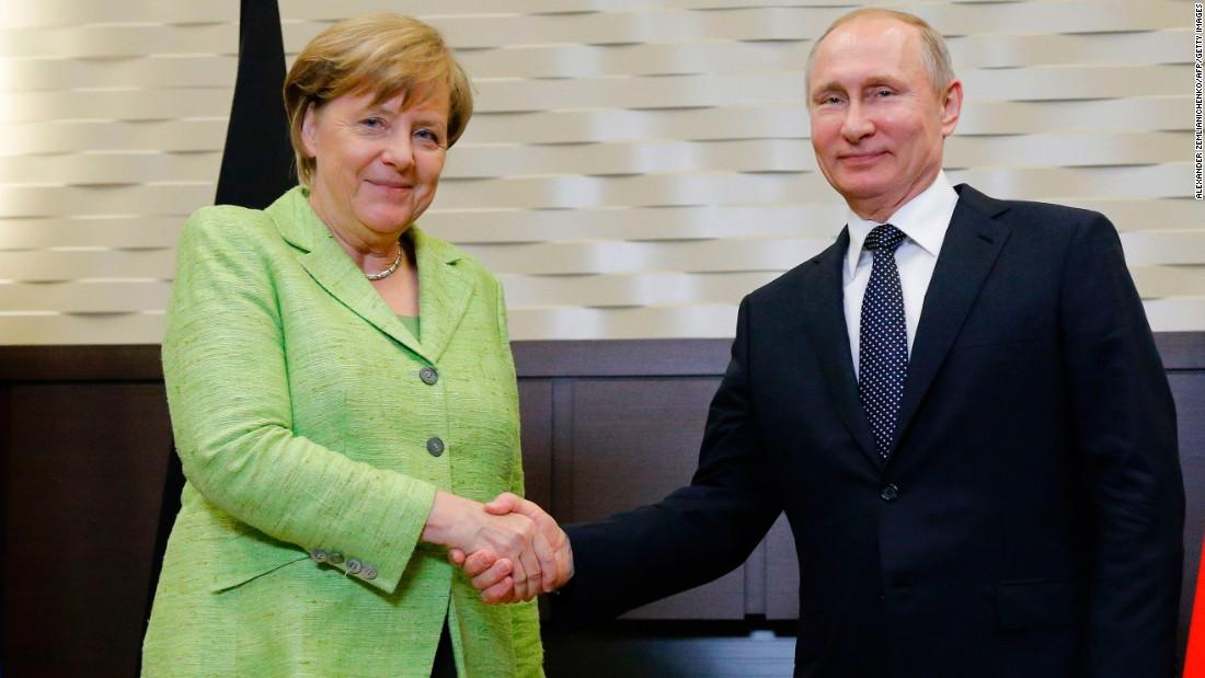 Merkel pushes Putin on Chechnya gay detention reports