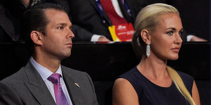 Donald Trump Jr.'s Wife Shows He's Really Following In His Father's Footsteps