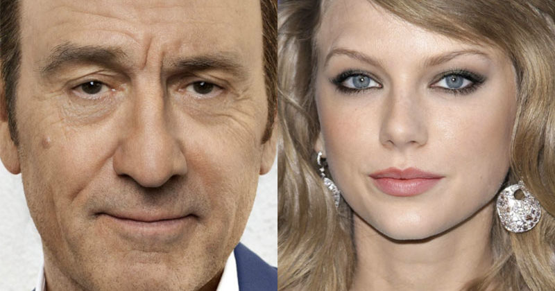 This Artist Expertly Mashes Up Celebrity Faces– Can You Guess Who They Are?