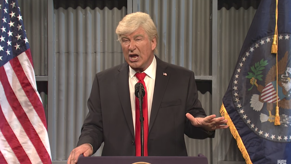 Alec Baldwin: Send Trump to a retirement community in Moscow where he belongs – The Hill