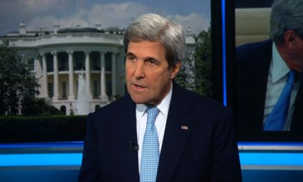John Kerry: Trump's comments 'improper'