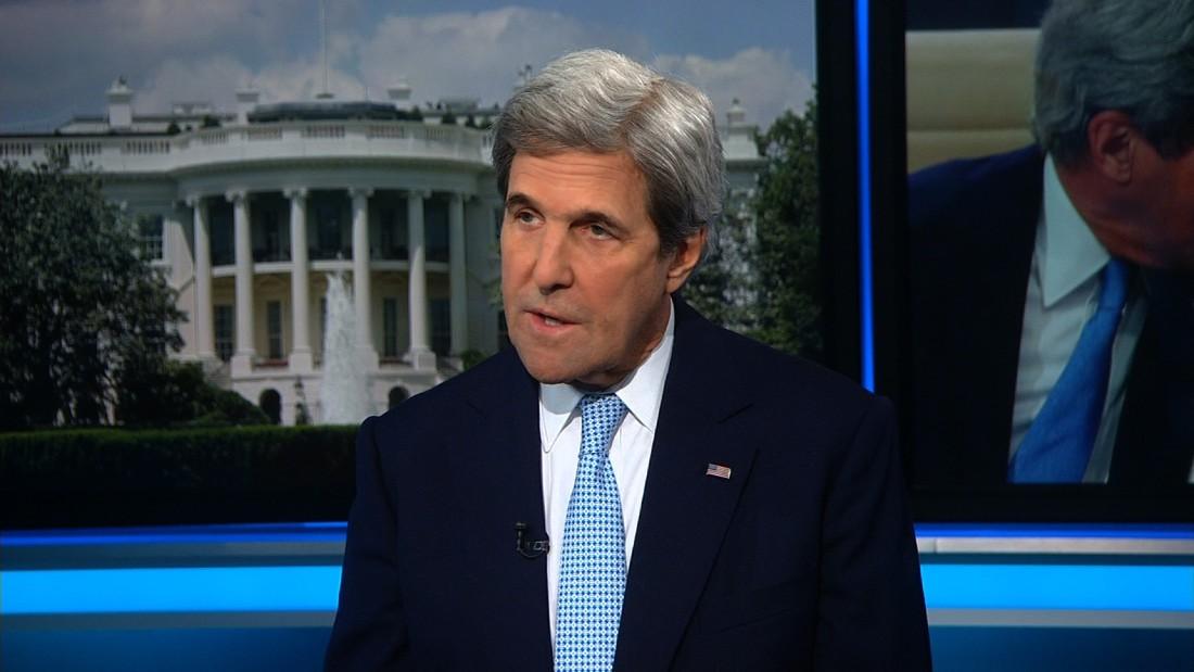 John Kerry: Trump's comments 'improper'