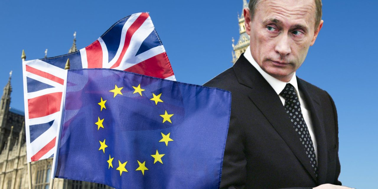 Why Putin Is Meddling in Britains Brexit Vote