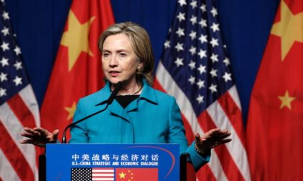 Clinton OD abandoned categorized data in the back of above 2010 China trigger