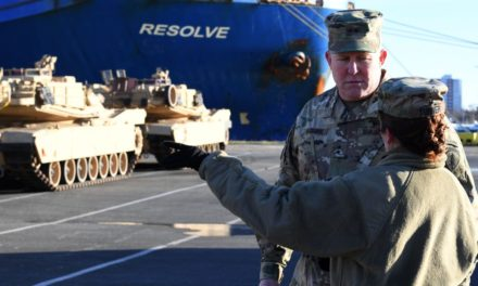 Russia states United States army build-up is 'a danger'