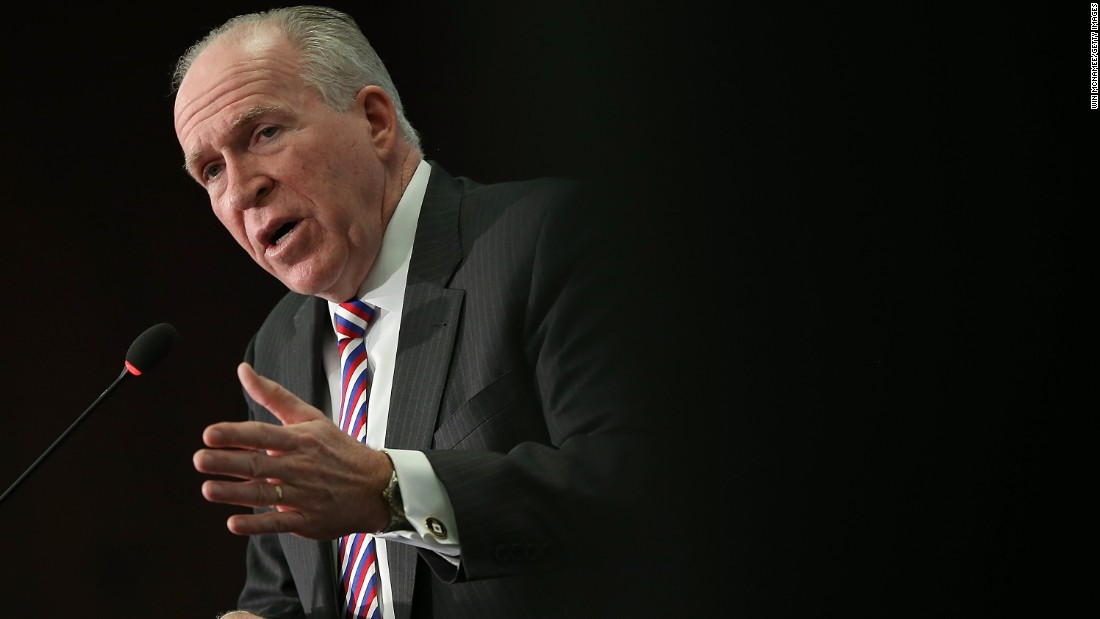 Donald Trump pounds CIA Director Brennan over appeal for 'admiration' of intel neighborhood