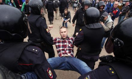 Hundreds Of Young Russians Arrested En Masse At Nationwide Protests