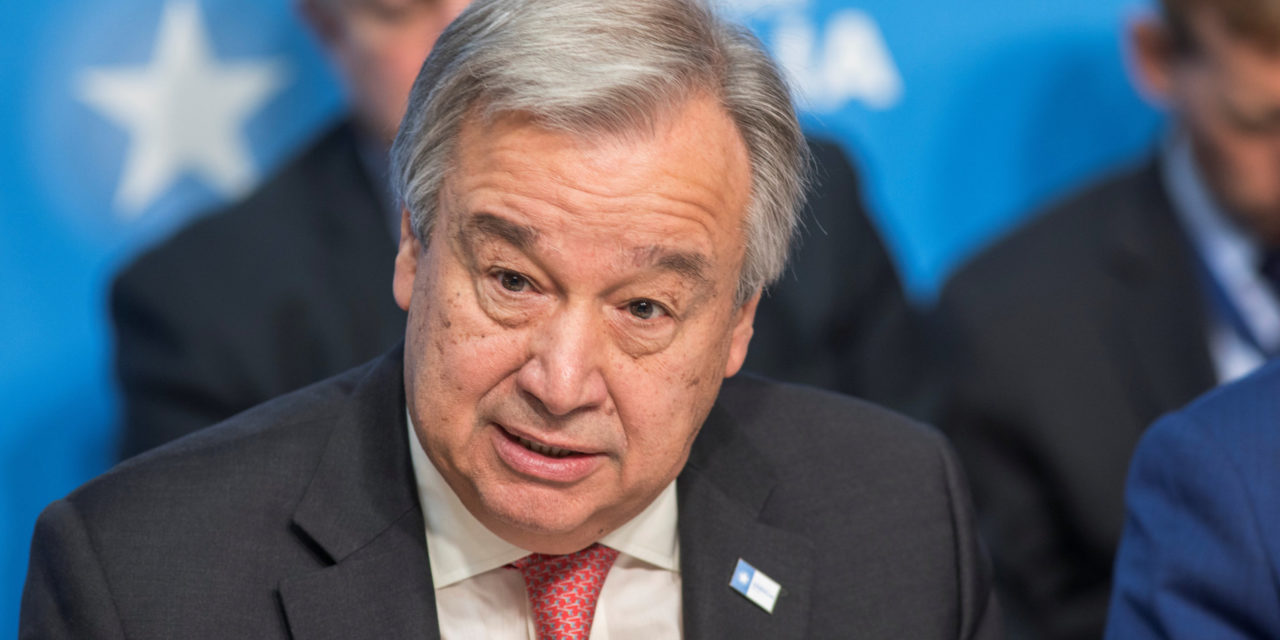 UN Chief Warns China, Russia And Iran 'WillFill Void' If U.S. Ceases Paris Deal