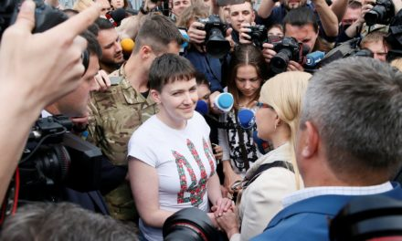 Russia Frees Feisty Woman Fighter Pilot Nadiya Savchenko