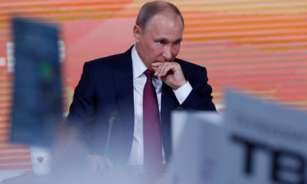 In Moscow, Vladimir Putin Calls Journalists' -LRB- **********************************************************************************************************) Bunch, ' Claims Trump-RussiaCollusion' -LRB- ***************************************************************************************************) ' – Newsweek