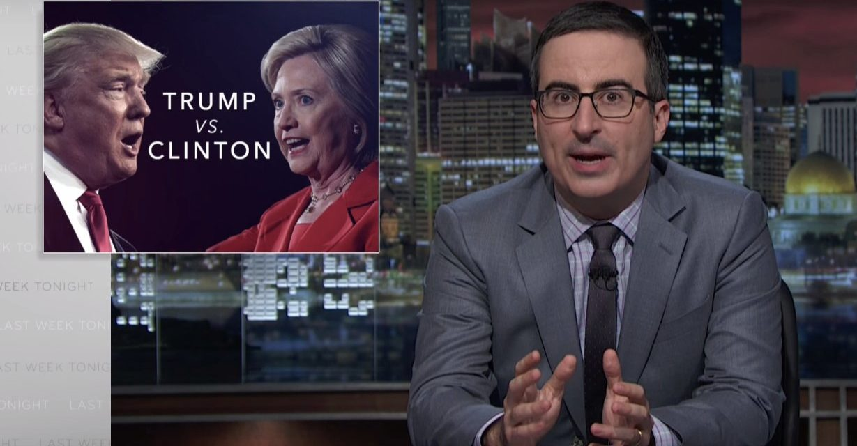 John Oliver: Dangerous Donald Trumps Scandals Far Worse Than Hillary Clintons