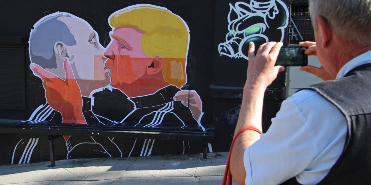 All front Times Donald Trump Sucked Up To Vlaldimir Putin