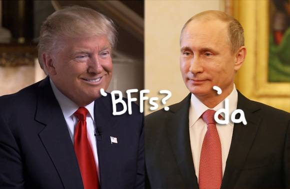 Disgusting!! Watch How Far Donald Trump Will Go To Defend His Best Friend Vladimir Putin