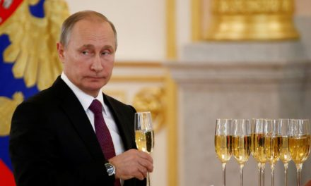 Russians Toast to President Trump