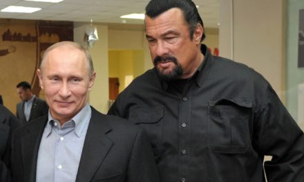 Steven Seagal Loves Vladimir Putin Even More Than Donald Trump Does