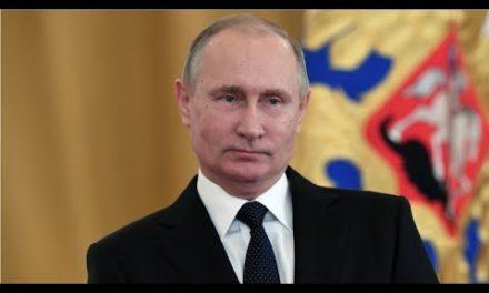 Putin ClaimsSt Petersburg Bombing Was An Act Of Terrorism