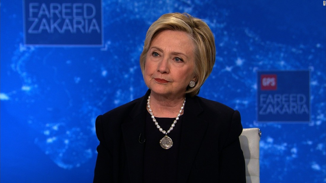 Hillary Clinton uninformed of file prior to it was released