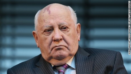 Last Soviet leader Gorbachev prohibited from Ukraine