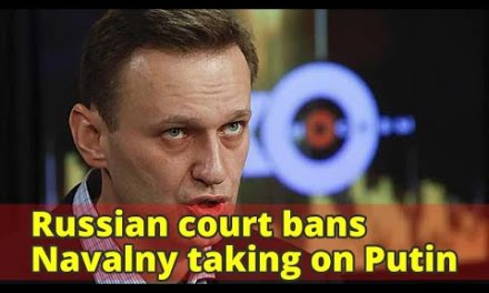 Russian court outlaws Navalny tackling Putin