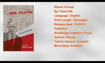 Mr. Putin: Operative in the Kremlin Book by Fiona Hill