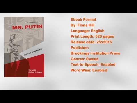 Mr. Putin: Operative in the Kremlin Book by Fiona Hill