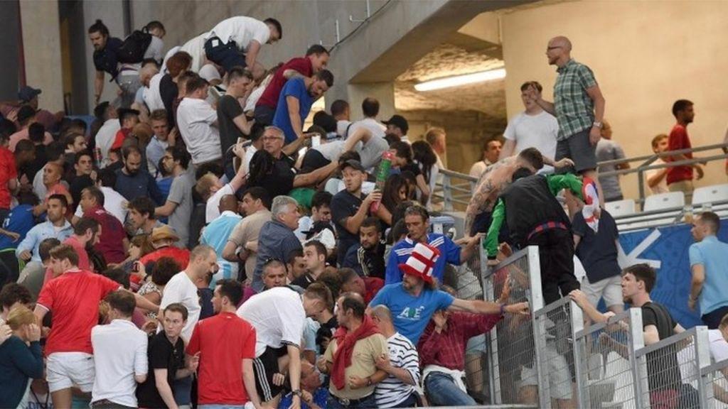 Euro 2016: Marseille problems leave Britons in healthcare facility – BBC News