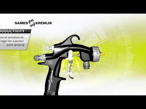 FPro Airspray – Pressure hand-operated spray weapon (standard, HVLP, LVLP)|SAMES KREMLIN