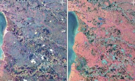 Satellite Images Of Lakes In Siberia Could Show Something Worrying