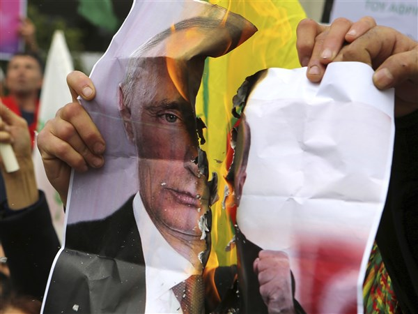 Analysis | Turkey's assault on Kurdish militias in Syria is perpetrating Vladimir Putin a brand-new success migraine – Pittsburgh Post-Gazette