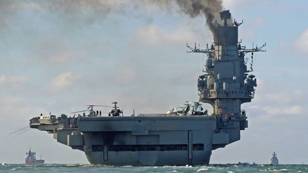 Russian warships cross thru English Channel – BBC News