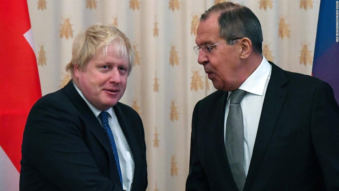 Russia- UK relationships at 'a really nadir' – Lavrov